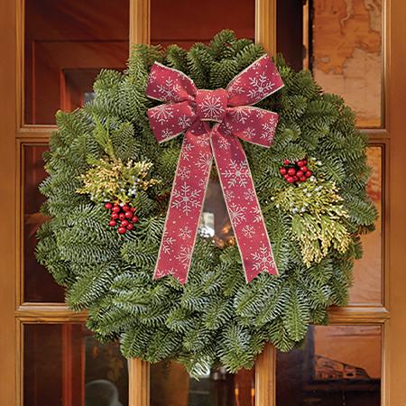 "22"" Mixed Evergreen Gift Wreath"